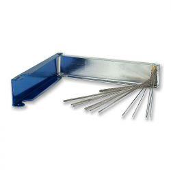 Przetyczki stalowe w pudełku metalowym