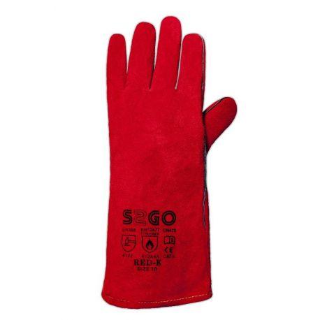 Rekawice spawalnicze S2GO RED-K